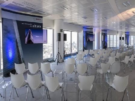 Evento en oficinas de bosch sillas shell for Bsch oficinas